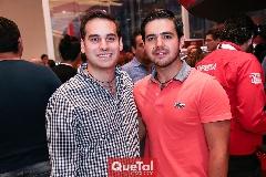 Jaime Alvarado y Mauricio Mahbub.