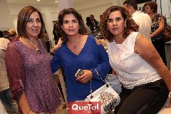 Lorena Valle, Marisa Mercado y Graciela Torres.