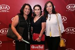 Laura Rodríguez, Lula López y Elsa Tamez.