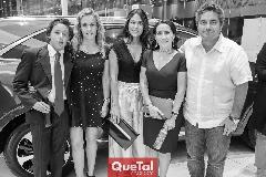 Juan Pablo Ruiz, Mónica Torres, Maribel Lozano, Lula López y Gerardo Rodríguez.