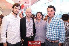 Óscar Hernández, Manuel Del Valle, Jorge Aldrett y Poncho Anaya.