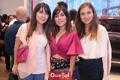 María José, Ximena y Elizabeth Treviño Báez.