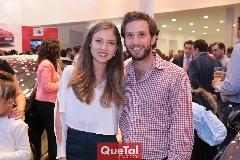 Elizabeth Treviño de Torres y Andrés Torres.