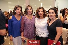 Marisa Mercado, Lorena Valle, Graciela Torres y Lula López.