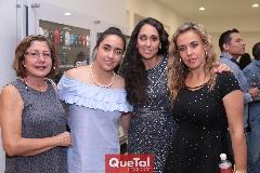 Nancy Orozco, Tatina Puente, Tatina Torres y Mónica Torres.