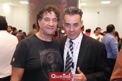 Cuate Castillo y Alfonso Martínez.