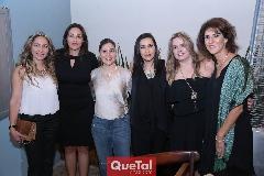 Alejandra Fernández de Pizzuto, Raquel Jiménez, Alejandra Velázquez, Mónica González, Vero Zúñiga y Rocío Güemes.