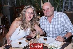 Alejandra Fernández de Pizzuto y Alejandro Pizzuto.
