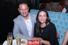 Alan Rosales y Raquel Jiménez.