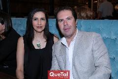 Mónica González y Ramón Sandoval.
