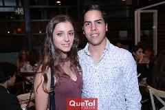 Lucía Delgado y Rodrigo Heinze.