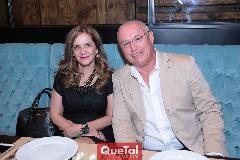Josefa Meraz y Mario Alvarado.