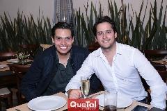 Alejandro Martínez y Mauricio Delgado.