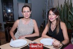 Zayda Martínez y Julieta Rueda.