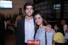 Susana y Mauricio De Luna.