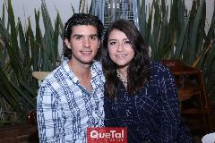 Andrés Delgado y Karla Garay.