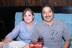 Martha Orozco y Francisco Ledezma.