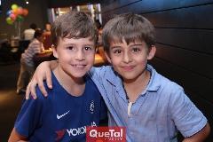 Luisma y Diego.
