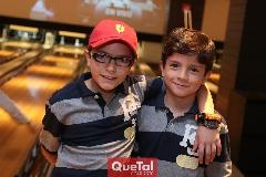 Javier y Leonardo.