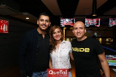 Braulio Mendoza, Andrea Contreras y Christian .