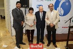 Juan Branca, Magdalena González, Virgilio Garza y Gustavo Puente.