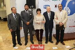 Rafael Villalobos, Juan Branca, Magdalena González, Virgilio Garza y Gustavo Puente.