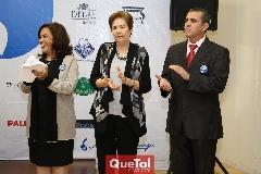 Lourdes Gómez, Bertha Garza  y Eduardo Gómez .