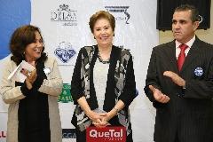 Lourdes Gómez, Bertha Garza  y Eduardo Gómez.