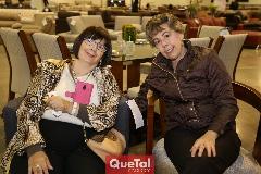 Cecilia González y Lucía Garza .
