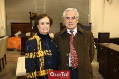 Yolanda González y Octaviano Gómez .