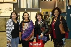 Armandina Ramos, Mari Carmen Lira, Macarena Castillo y Elodia Terán .