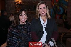 Olivia Morales y Lucía Garza.