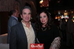 Alfredo Vergara y señora.