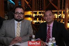 Sergio Cerda y Alfonso Chávez.