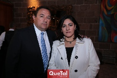 Héctor Faz y Claudia Vázquez.