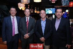 Heriberto Castro, Alfonso Benítez, Roberto y Félix Bocard.