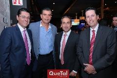 Heriberto Castro, Javier Tobías, Federico Clariond y Alfonso Benítez.