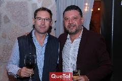 Carlos Celis y Tomas Díaz de León.