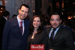 Gerardo Gutiérrez, Ileana González y Miguel Guadarrama.