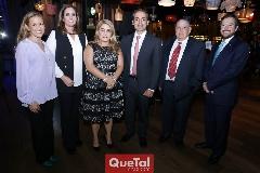 Laura Cadena, Marcela Payán, Carmenchu, Federico Clariond, Jacobo Payán y Adrián Lozano.