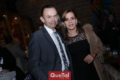 Alejandro Pérez y Ana Emelia Tobías.