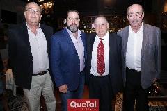 Guillermo González, Mauricio Pizzuto, Jacobo Payán y Roberto López.
