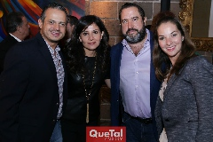 Miguel, Emi Delgado, Mauricio Pizzuto y Ale López.