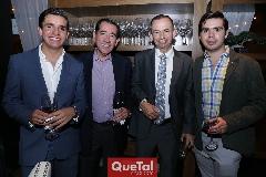 Marcelo Pérez, Félix Bocard, Alejandro y Rodrigo Pérez.