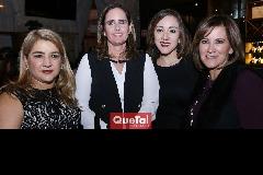 Carmenchu, Marcela Payán, Ana y Gabriela Brugal.