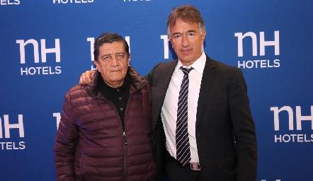 Gustavo Sandoval y Alejandro Abud.
