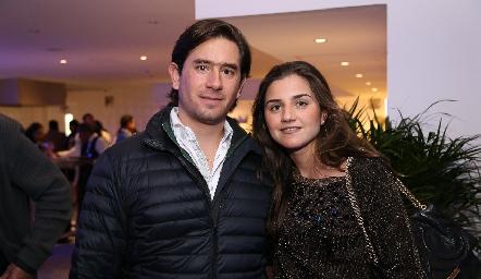 Fernando Abud y Eugenia Musa .