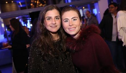 Eugenia Musa y Claudia Oliva.