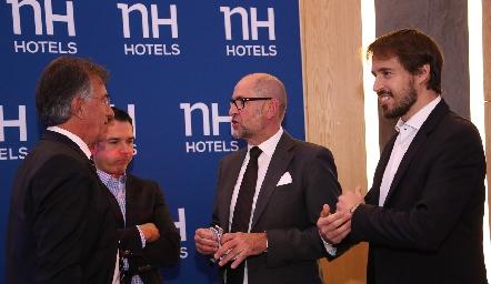 Inauguración NH Hotels.