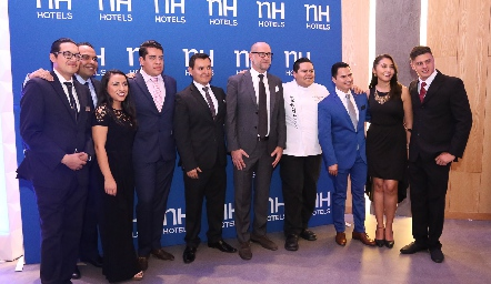 Equipo NH Hotels.